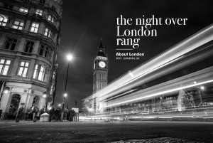 the night over London rang